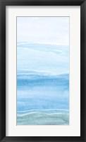 Wavy II Framed Print