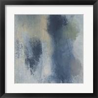Azure Blend I Framed Print