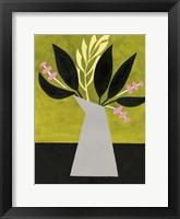 Mod Bouquet I Framed Print