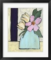 Distressed Bouquet I Framed Print