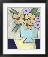 Distressed Bouquet II Framed Print