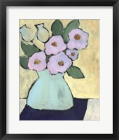Distressed Bouquet III Framed Print