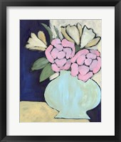 Distressed Bouquet IV Framed Print
