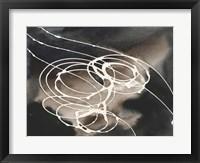 Midnight Swirl I Framed Print