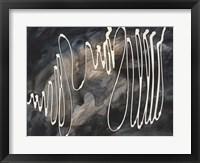 Midnight Swirl IV Framed Print