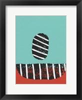 Colorful Isolation I Framed Print