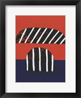 Colorful Isolation III Framed Print