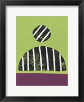 Colorful Isolation IV Framed Print