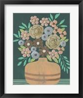Flower Garden Bouquet III Framed Print