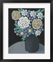 Gathering Floral I Framed Print