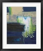 Blue Composite I Framed Print