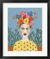 Frida Headdress I Framed Print
