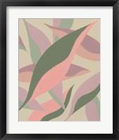 Elongated Leaves I Framed Print