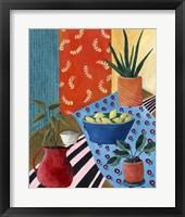 Framed Colorful Tablescape I
