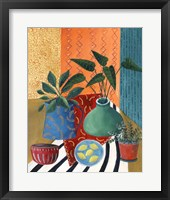 Framed Colorful Tablescape II
