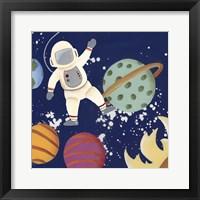 Future Space Explorer I Framed Print
