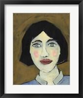 Green Eyed Girl II Framed Print