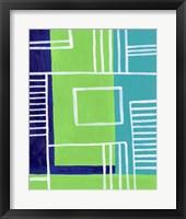 On the Line II Framed Print