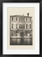 Framed Vintage Views of Venice I