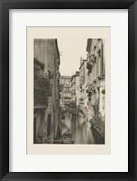 Vintage Views of Venice IV Framed Print
