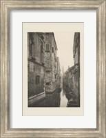 Framed Vintage Views of Venice V