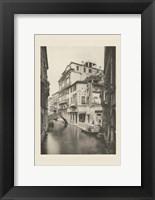 Framed Vintage Views of Venice VI