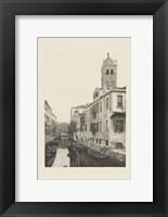 Framed Vintage Views of Venice VII