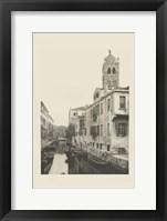 Vintage Views of Venice VII Framed Print