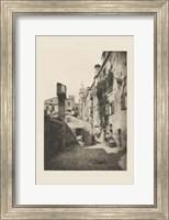 Framed Vintage Views of Venice VIII