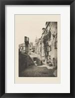Vintage Views of Venice VIII Framed Print