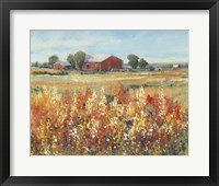 Country View II Framed Print