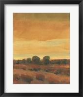 Golden Time I Framed Print