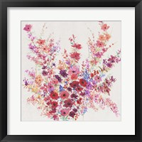 Flowers on a Vine I Framed Print
