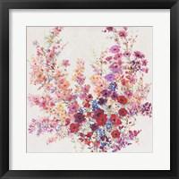 Flowers on a Vine II Framed Print