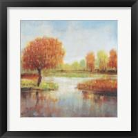 Lake Reflections I Framed Print