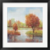 Lake Reflections II Framed Print