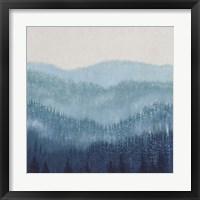 Smoky Ridge II Framed Print