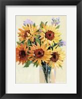 Fresh Cut Flowers I Framed Print