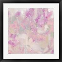 Blooming Shrub I Framed Print