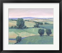 Rolling Countryside I Framed Print