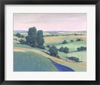 Rolling Countryside II Framed Print