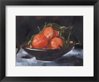 Fruit Plate II Framed Print