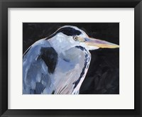 Great Heron I Framed Print