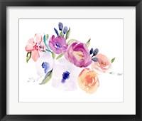 Watercolor Anemone II Framed Print