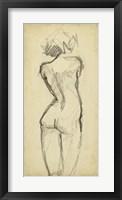 Full Figure Lines I Framed Print