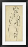 Full Figure Lines II Framed Print