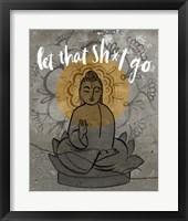Let It Go I Framed Print