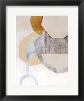 Desert Rockfall II Framed Print