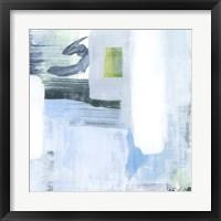 Oceanic Shimmer V Framed Print