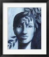 Winking Shadow I Framed Print